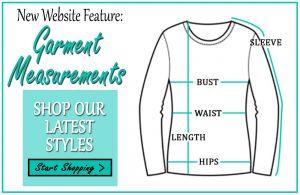New Website Feature: Garment Measurements